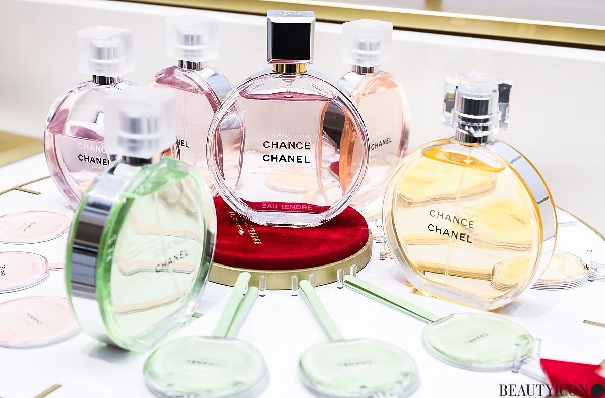 Chanel Chance Eau Tendre 2019, Chanel Take a New Chance, Take Your Chance, Chanel Beauty Warsaw, butik Chanel