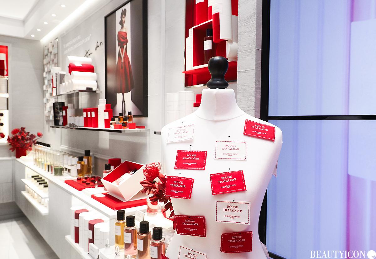 Dior Rouge Trafalga,r Butik Dior w Warszawie