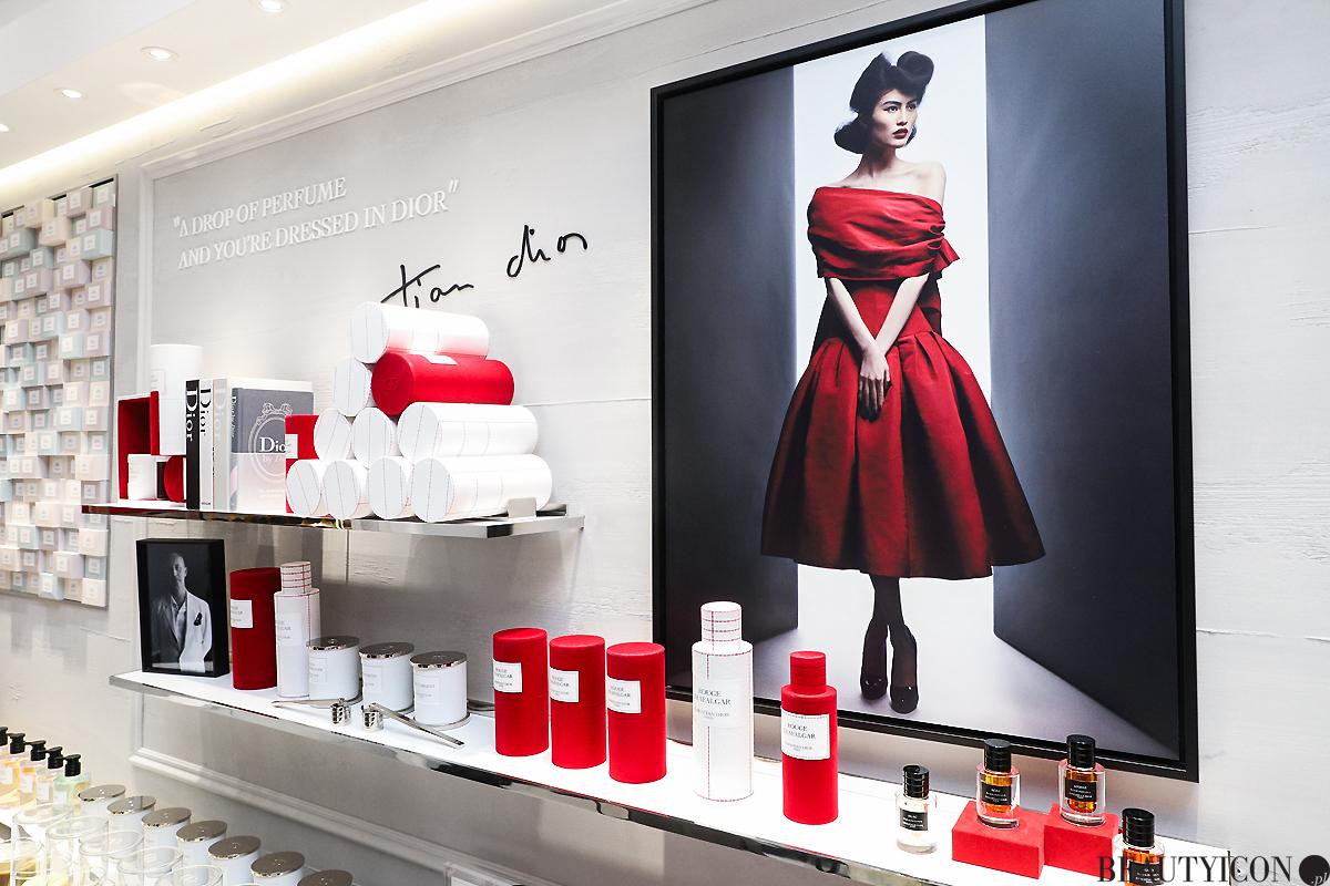 Dior Trafalgar Dress, premiera perfum Rouge Trafalgar