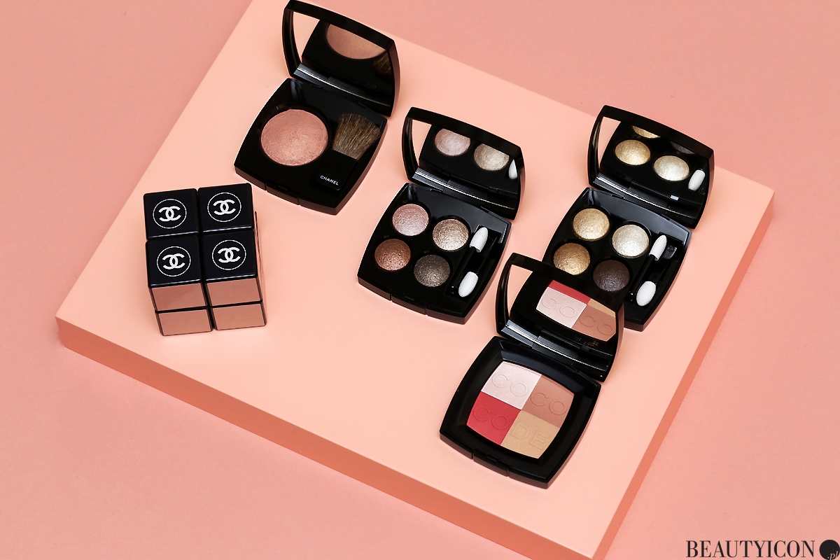 Chanel Coco Codes, Chanel Spring Makeup 2017, makijaż Chanel, Chanel Wiosna 2017, Les 4 Ombres Codes Subtils