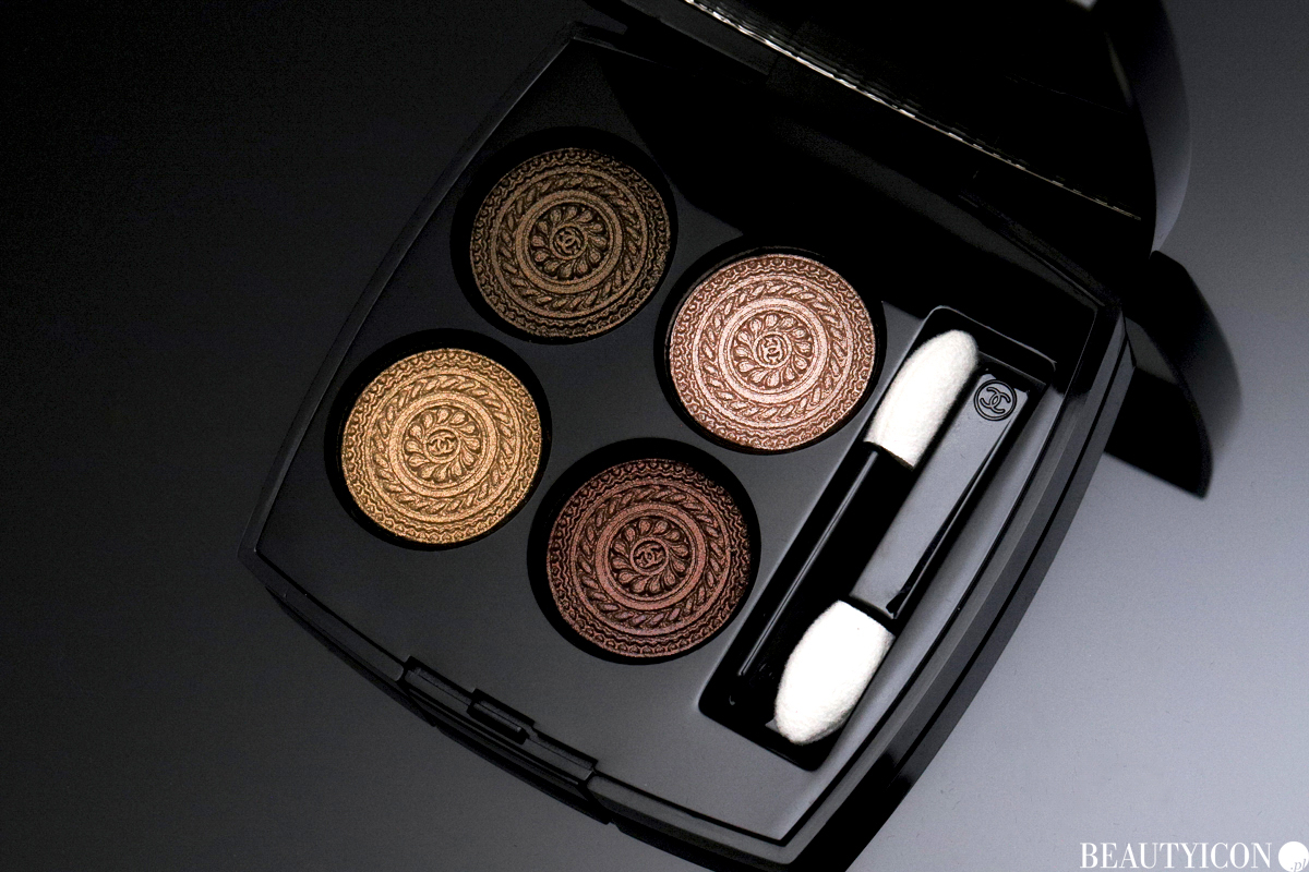 Les Ornements de Chanel Lumiere Et Opulence paleta cieni Les 4 Ombres