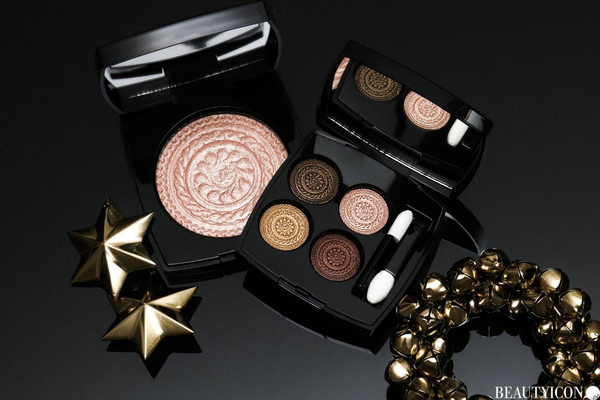 Makijaż świąteczny Chanel 2019 Les Ornements