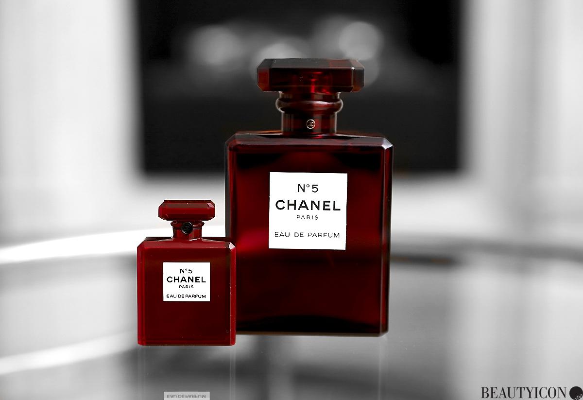 Chanel N5 Red Edition Bottle 2018, czerwony flakon Chanel N5