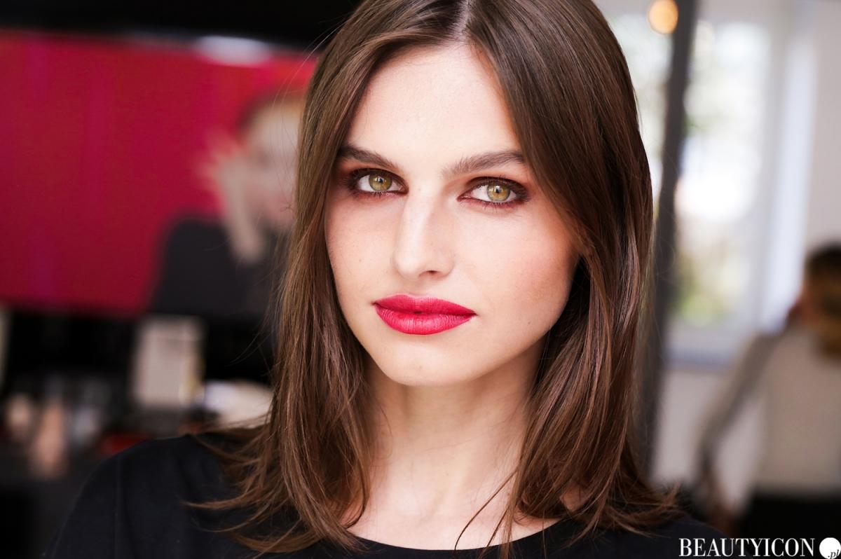 Chanel Le Rouge Collection N1, #lerougecollection1, Chanel Lucia Pica, Makijaż Jesień 2016, Modelka Angelika Barańska, Mysia 3 Warszawa