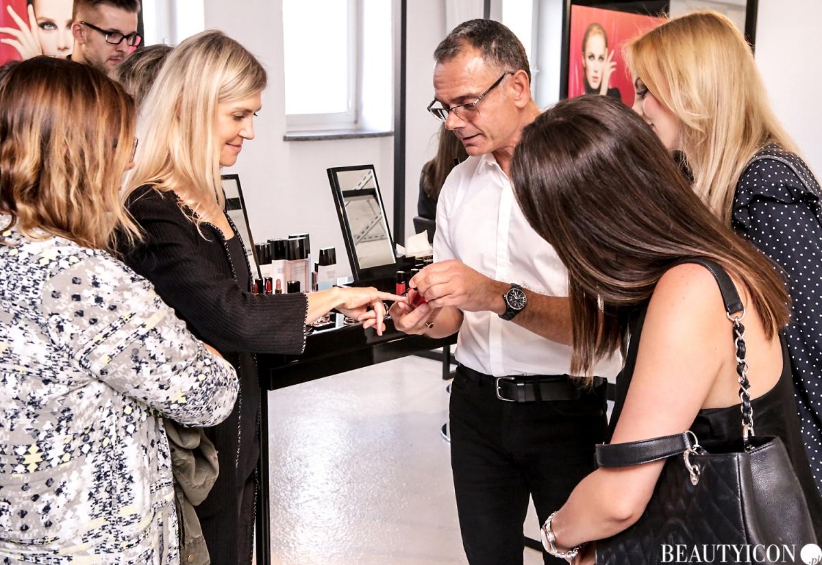 Chanel Le Rouge Collection N1, #lerougecollection1, Chanel Lucia Pica, Makijaż Jesień 2016, Modelka Angelika Barańska, Mysia 3 Warszawa, Dominique Papadopoulos, Agnieszka Sobieska Piłatowicz