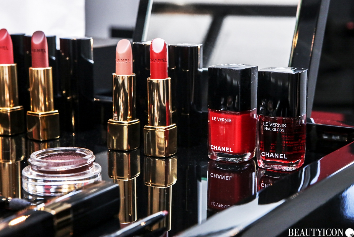 Chanel Le Rouge Collection N1, #lerougecollection1, Chanel Lucia Pica, Makijaż Jesień 2016, Mysia3, Warszawa