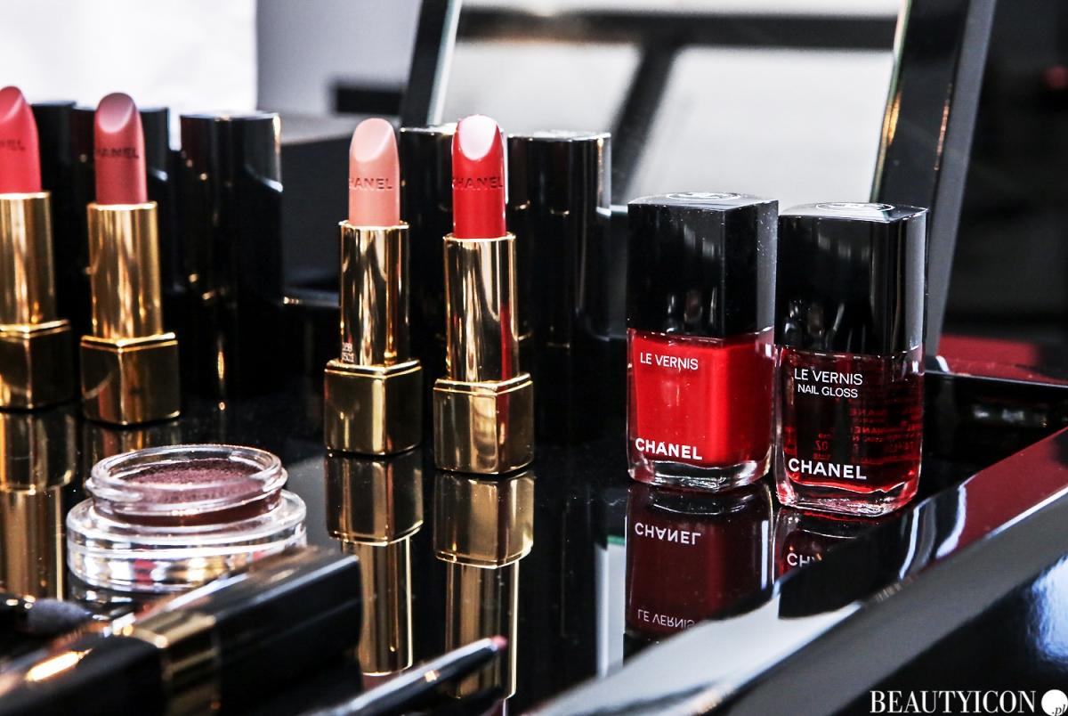 Chanel Le Rouge Collection N1, #lerougecollection1, Chanel Lucia Pica, Makijaż Jesień 2016, Mysia3, Warszawa