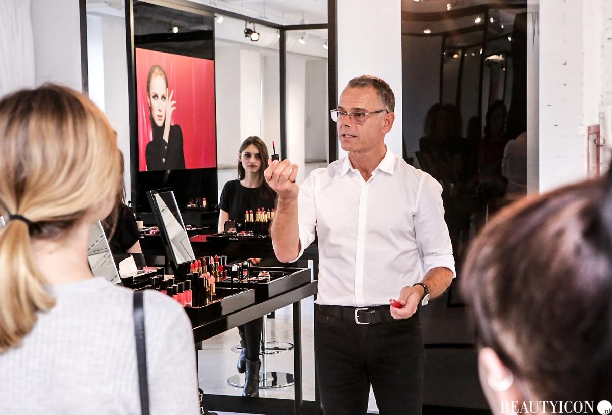 Chanel Le Rouge Collection N1, #lerougecollection1, Chanel Lucia Pica, Makijaż Jesień 2016, Modelka Angelika Barańska, Mysia 3 Warszawa, Dominique Papadopoulos