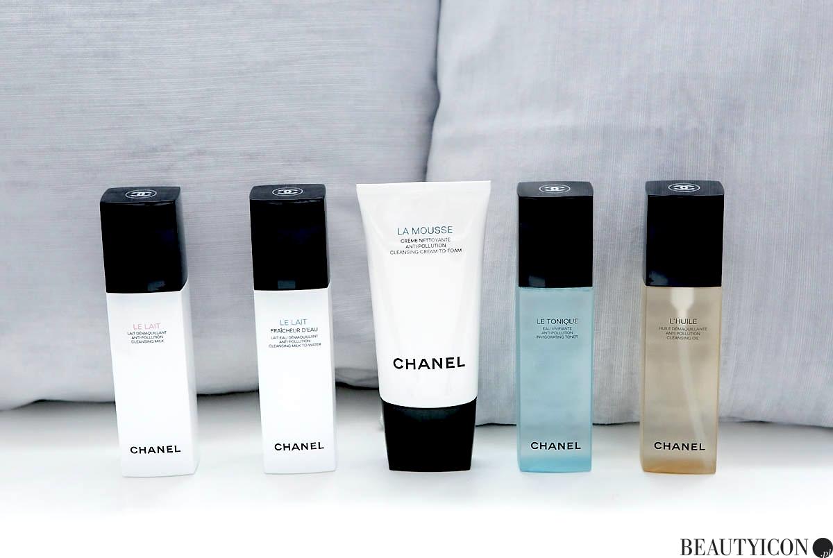 Oczyszczanie demakijaż Chanel 2018, Chanel The Cleansing Collection, demakijaż Chanel, kosmetyki do demakijażu Chanel