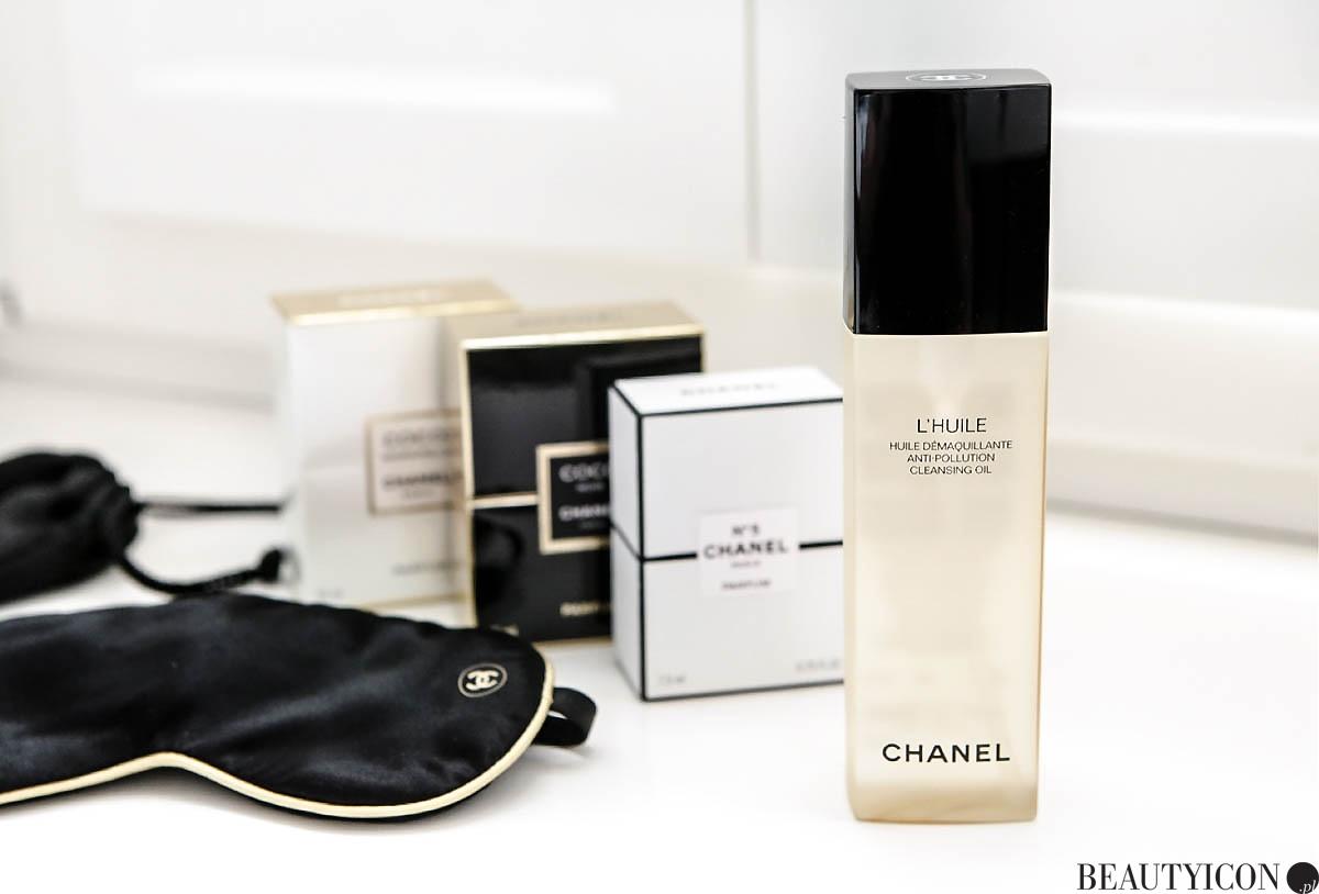 Demakijaż Chanel L'Huile, olejek do demakijażu, olejek do demakijażu Chanel, The Cleansing Collection Chanel