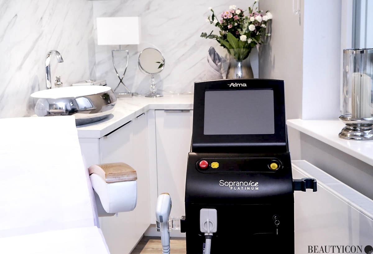 Instytut Urody Secret Avenue Gdańsk, depilacja laserowa Sopranoice Platinum