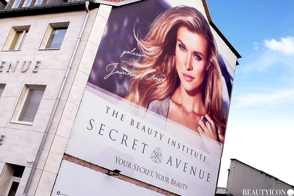 Instytut Urody Secret Avenue Gdańsk, Joanna Krupa Secret Avenue Gdańsk