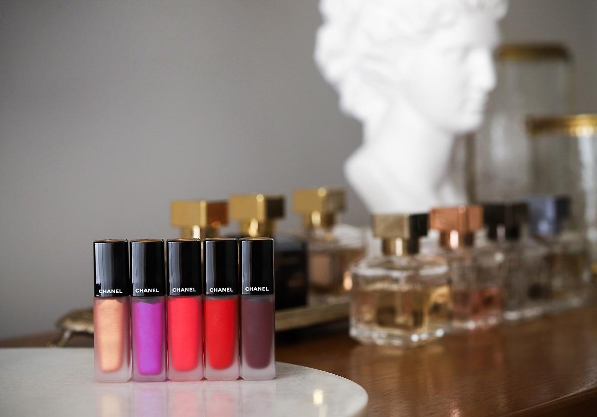Chanel Rouge Allure Ink nowe kolory 2019