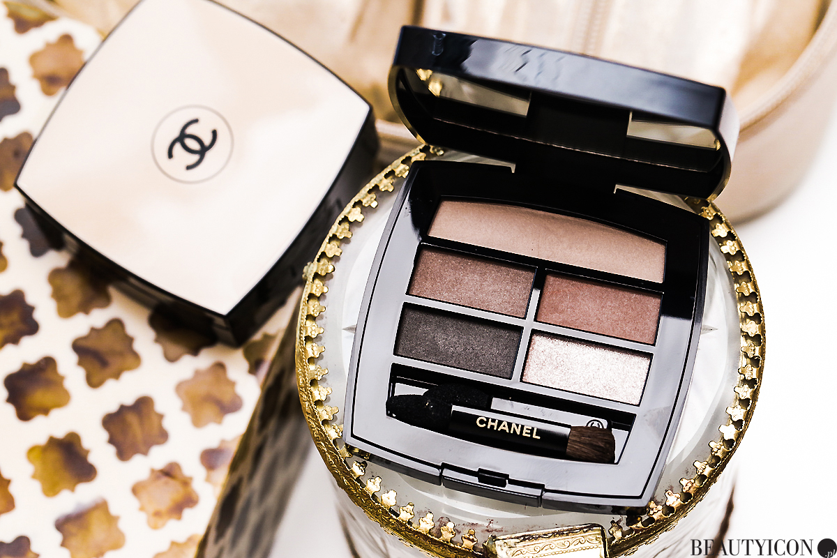 Chanel Healthy Glow Natural Eyeshadow Palette, paleta cieni Chanel