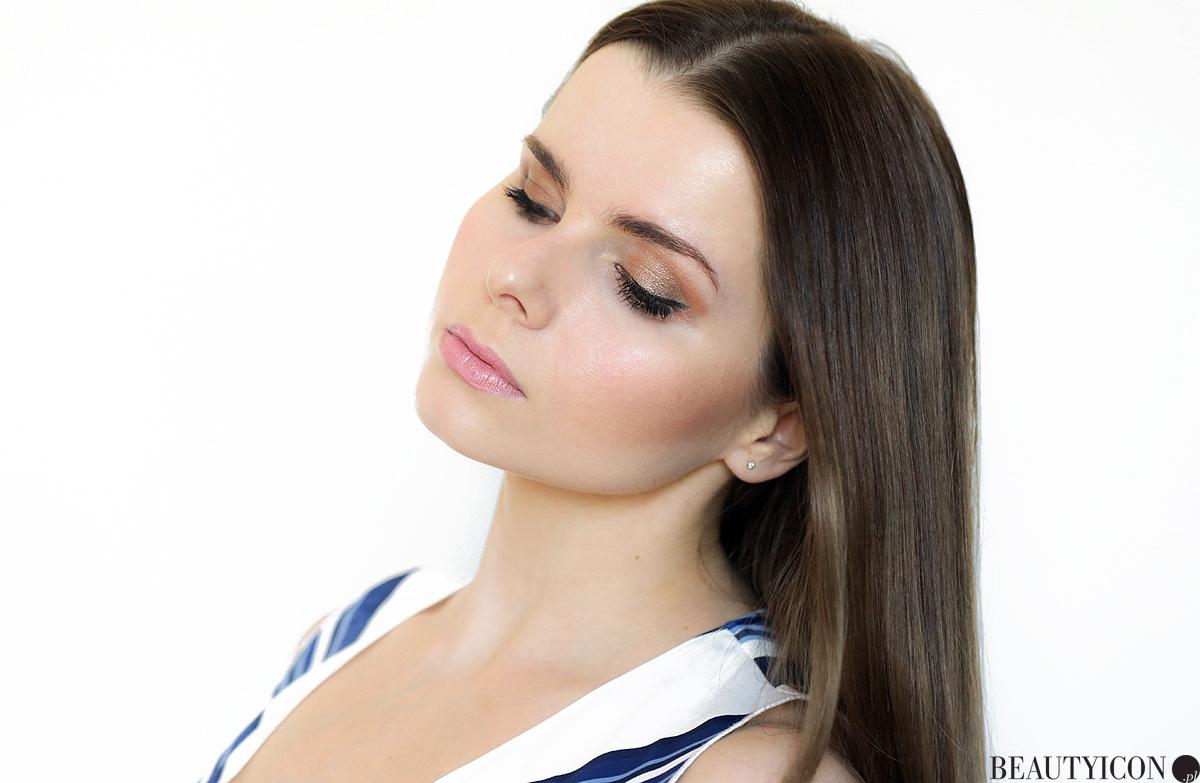 Makijaż Chanel, Chanel Healthy Glow Natural Eyeshadow Palette, paleta cieni Chanel, koloryzacja Kemon