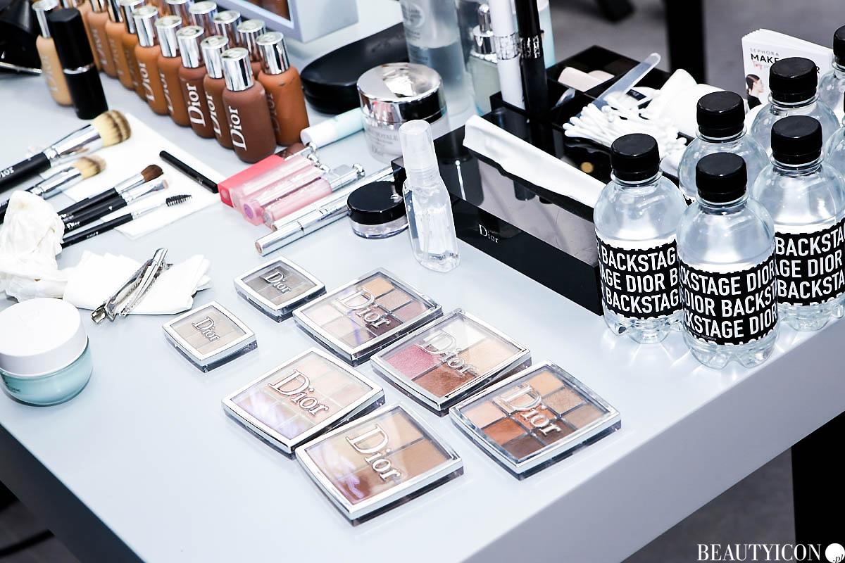 Dior Backstage 2018, kosmetyki profesjonalne, makijaż profesjonalny, kosmetyki Dior, podkład Dior