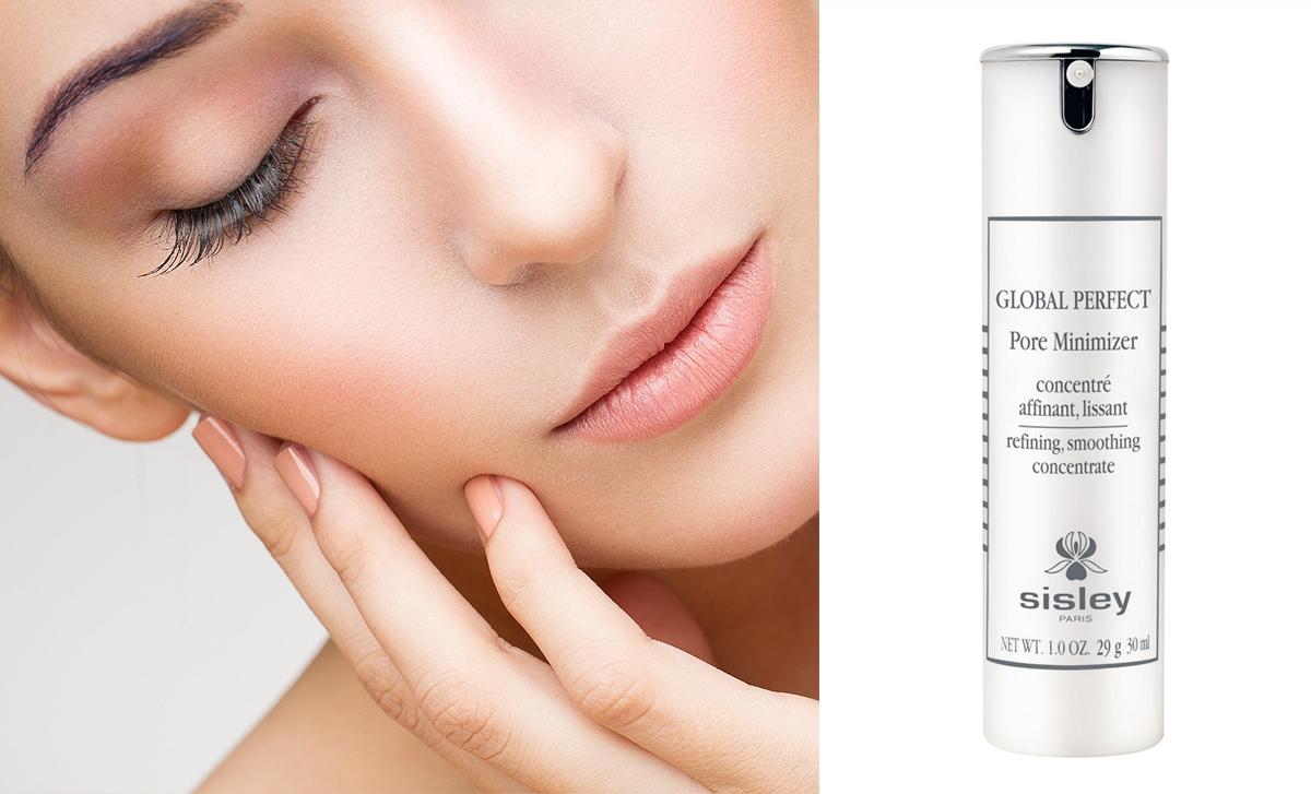 Sisley Global Perfect Pore Minimizer, serum zwężające pory, serum maskujące pory, krem pod podkład, perfekcyjna cera