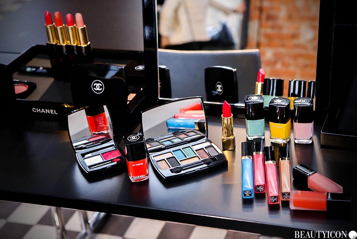 Chanel Neapolis 2018 Le Vernis, Chanel Neapolis Makeup, kosmetyki Chanel, Chanel Neapolis 2018