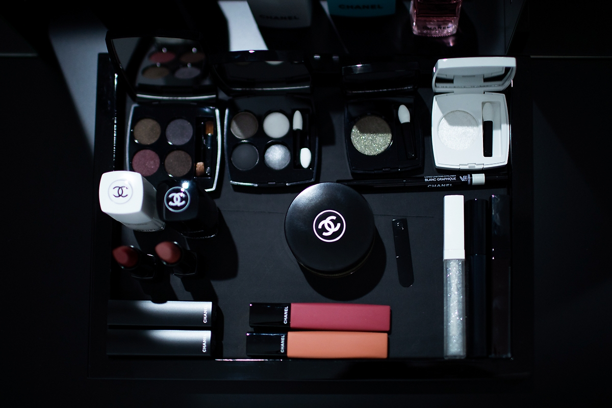 CHANEL MAKEUP FALL WINTER 2019, Chanel Noir Et Blanc 2019 2020