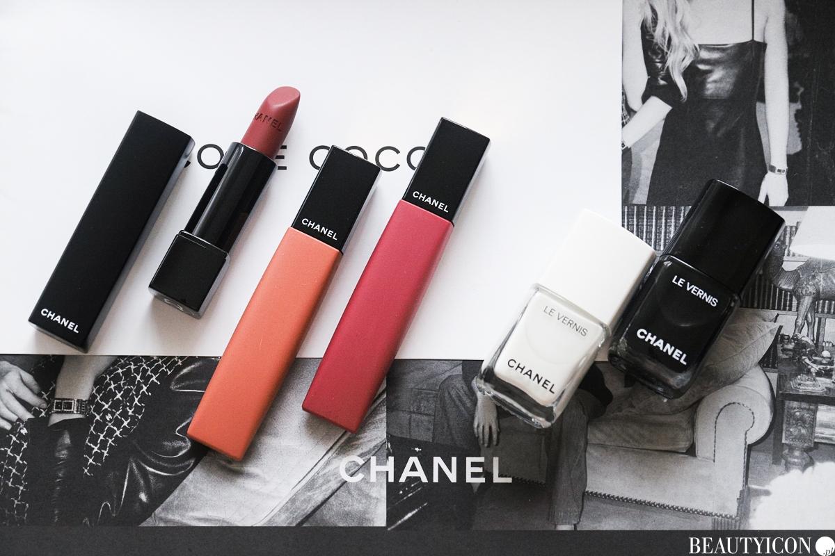 Chanel Noir et Blanc 2019 2020 Makijaz