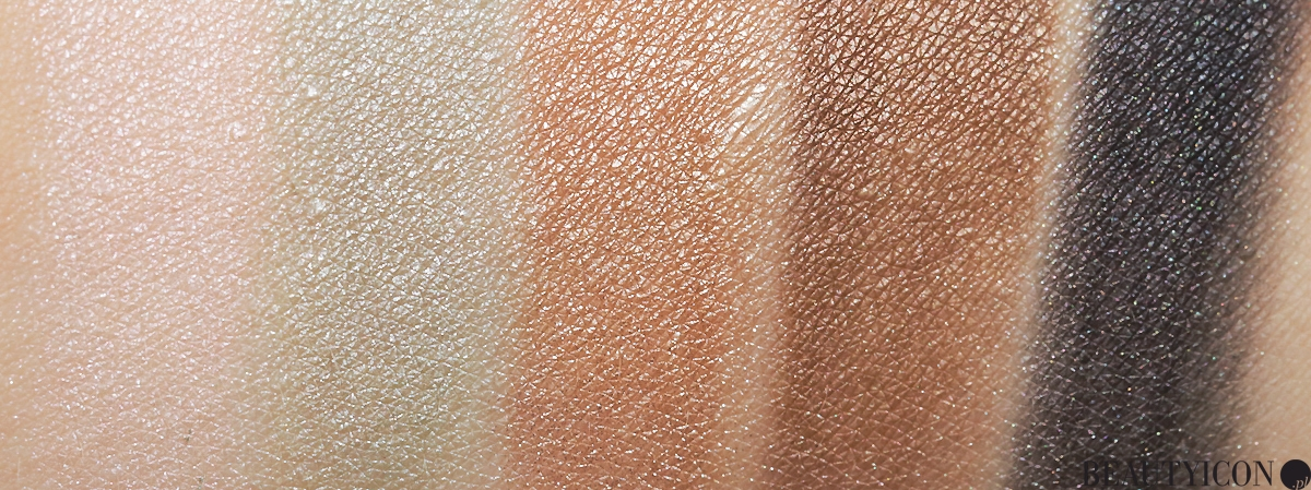 Dior 5 Couleurs Metallics Fascinate Swatch, Dior 5 Couleurs, kosmetyki Dior, Dior Metallics Swatch