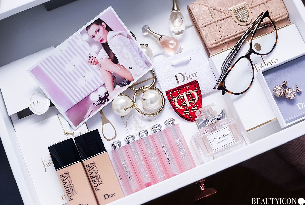 Dior addict lip glow Bella Hadid 2018, Dior Lets Glow Girls, Dior Diorskin Forever Undercover
