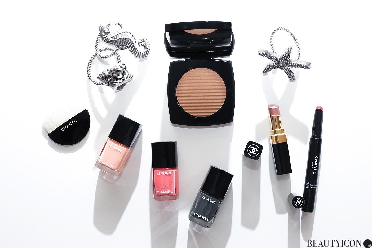 Makijaż lato 2017, Chanel 2017 Cruise Collection: Les Indispensables De L'Ete