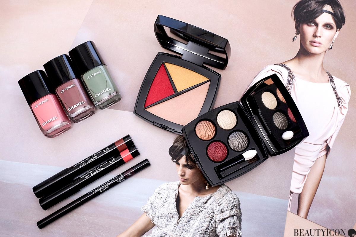 Chanel Cruise 2018, makijaż na lato, makijaż lato 2018, kosmetyki Chanel Cruise 2018