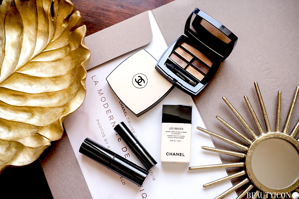 Kolekcja makijażu Chanel Les Beiges 2018, kosmetyki Chanel Les Beiges 2018