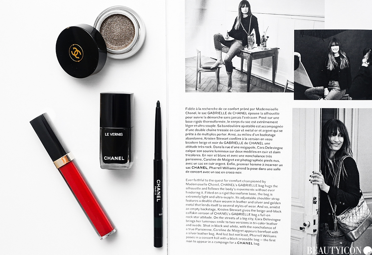 Chanel Numeros Rouges, Chanel Makeup, Makijaż Chanel, Chanel Trait de Caractere, Chanel Libre Collection 2017
