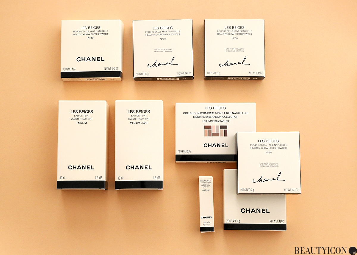 Chanel Les Beiges 2019 test kosmetyków