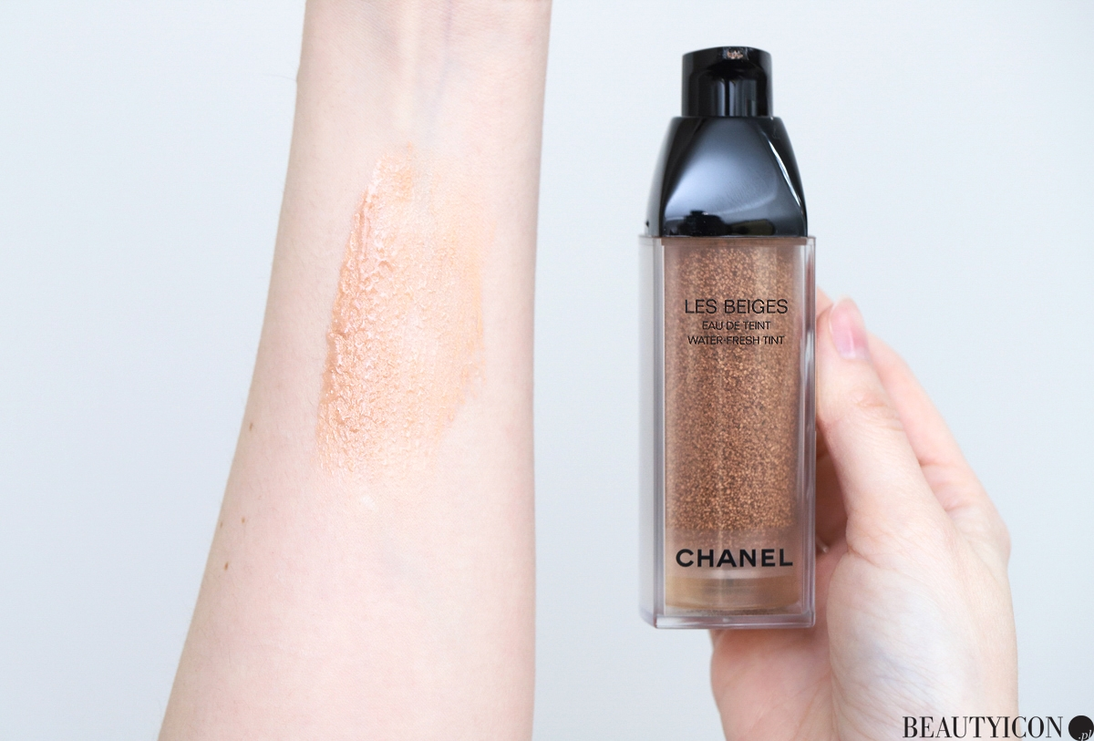 Test recenzja podkladu Chanel Les Beiges Water Fresh Tint
