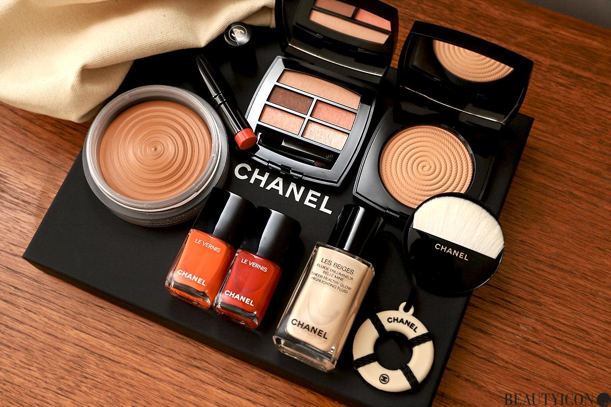 Chanel Les Beiges 2020 Makijaż Lato Summer of Glow