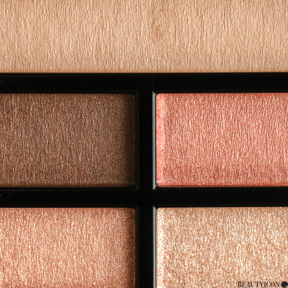 Chanel Les Beiges Healthy Glow Natural Eyeshadow Palette Warm