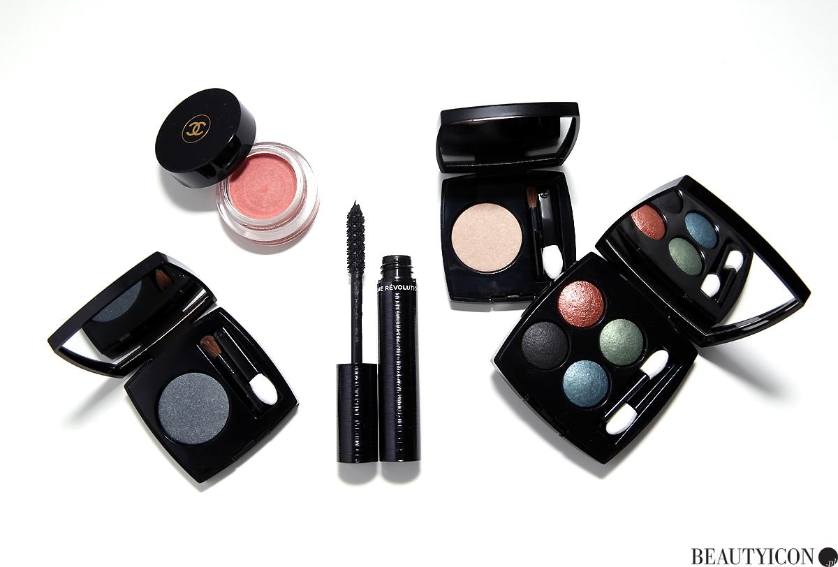 Makijaz Chanel kosmetyki Eyes collection 2018