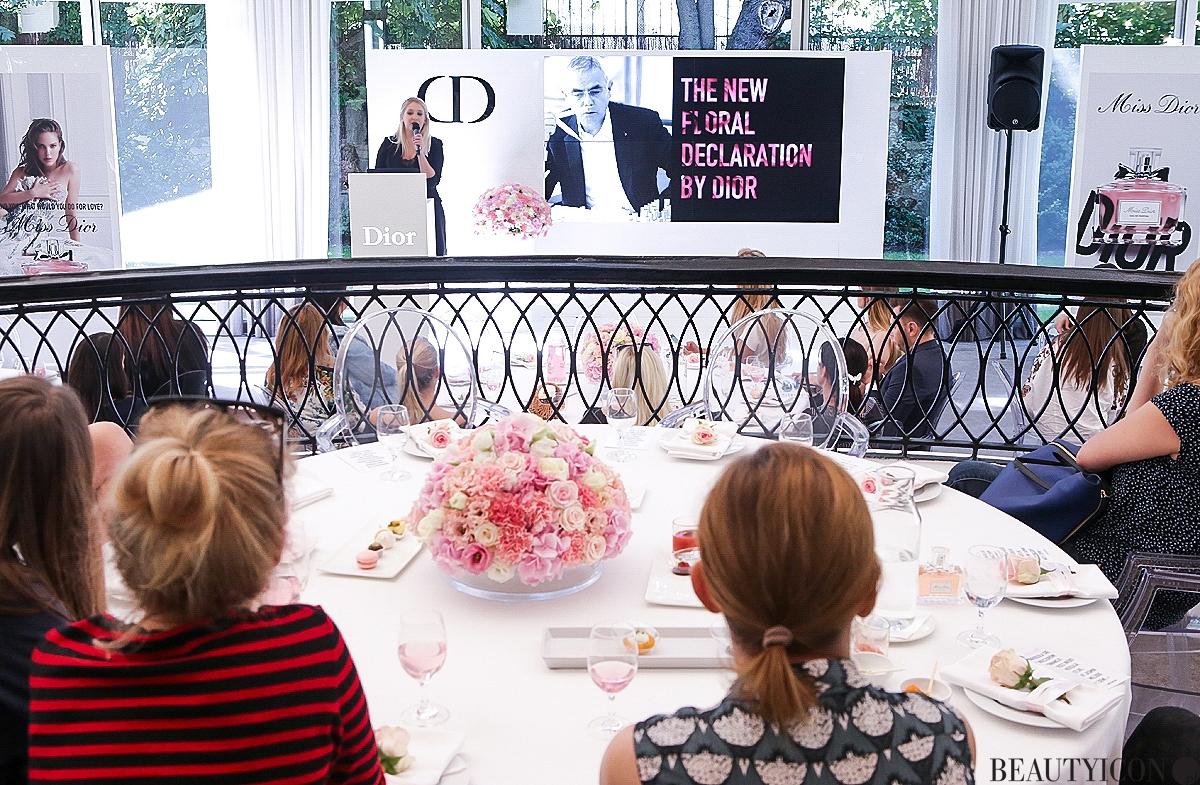 Miss Dior woda perfumowana, Miss Dior 2017, Miss Dior Villa Foksal, Francois Demachy