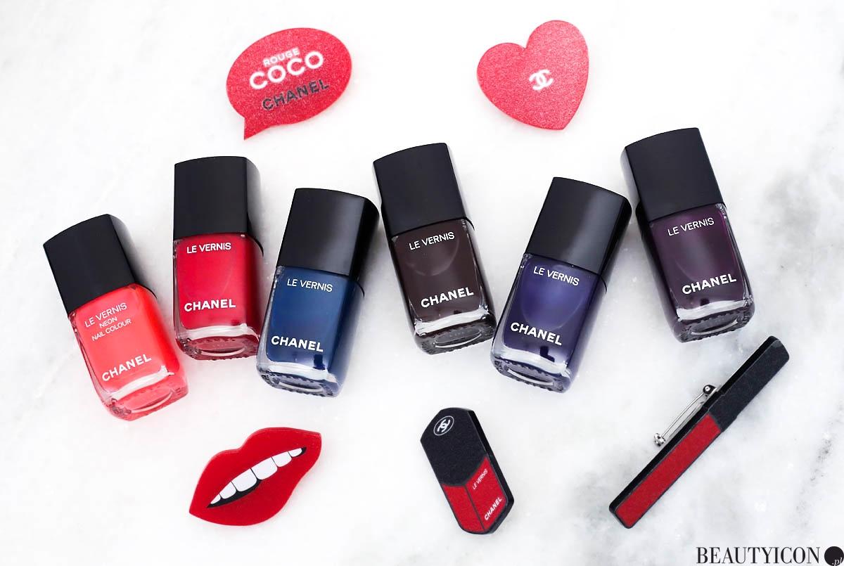 Chanel Le Vernis Lip Blush 2018