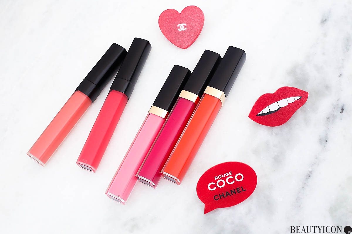 Chanel Rouge Coco Lip Blush Gloss