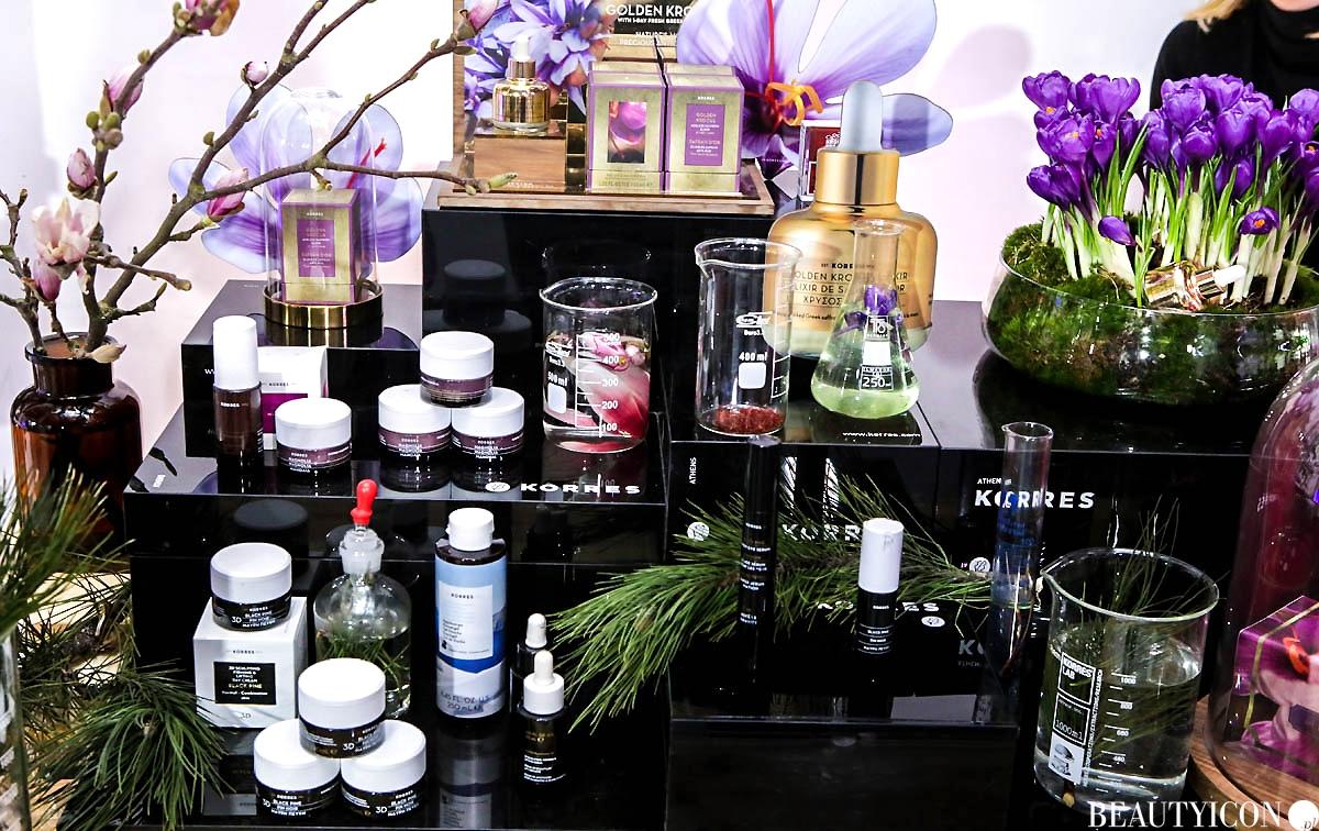 Kosmetyki Korres Open Door Sephora 2018