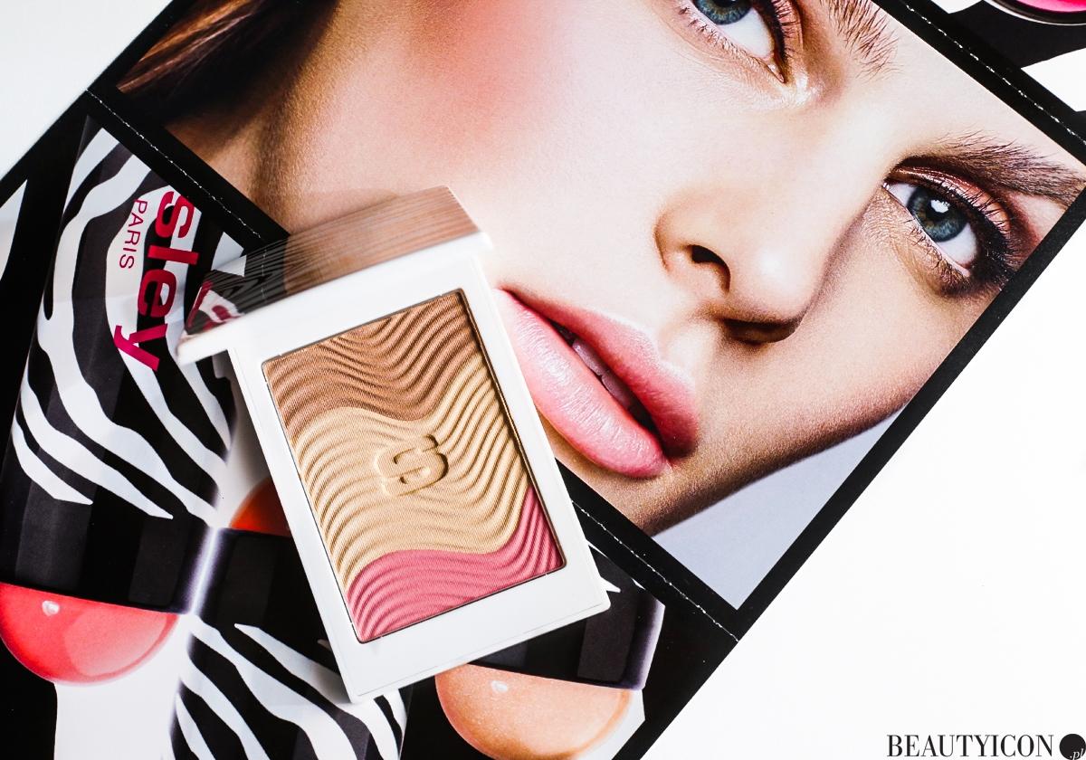 Puder Sisley, makijaż Sisley, kosmetyki Sisley, Sisley Phyto Touche Poudre Eclat Soleil, Pechee Dore Sisley
