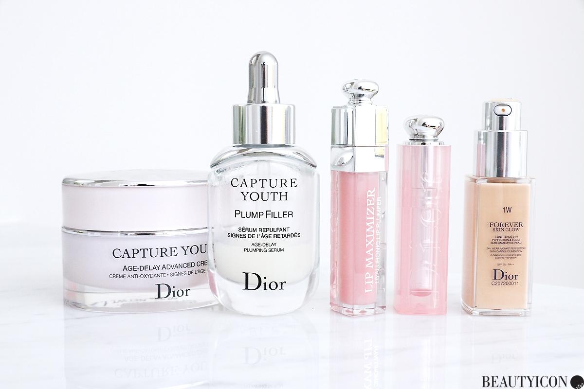 Dior pielegnacja i makijaż, Dior Capture Youth, Dior Addict Lip Glow, Dior Forever