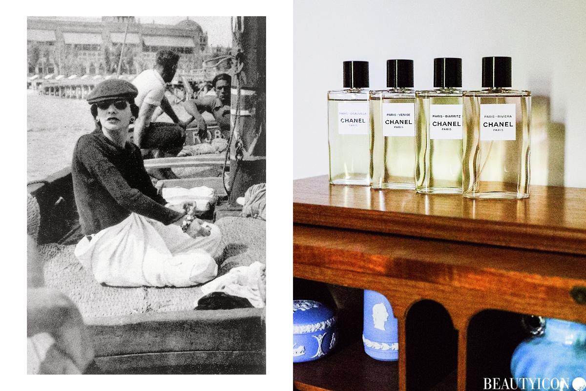 Les Eaux de Chanel, butik Chanel, Chanel Venise, Chanel Deauville, Chanel Biarritz, Chanel Riviera