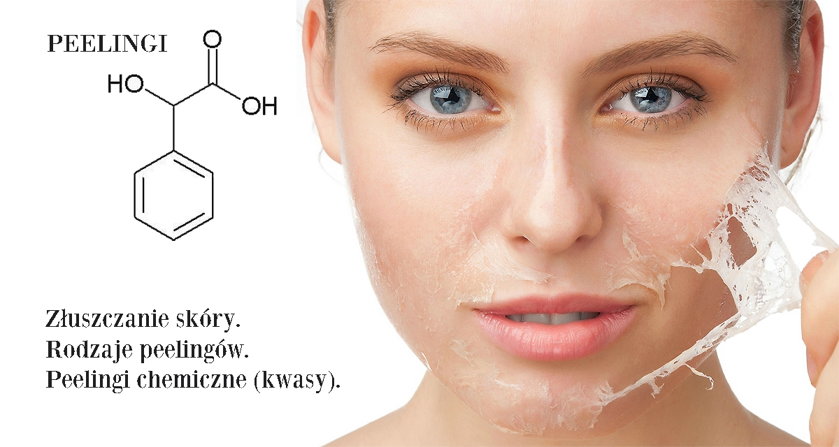 Peeling chemiczny, kwasy, zabiegi złuszczające