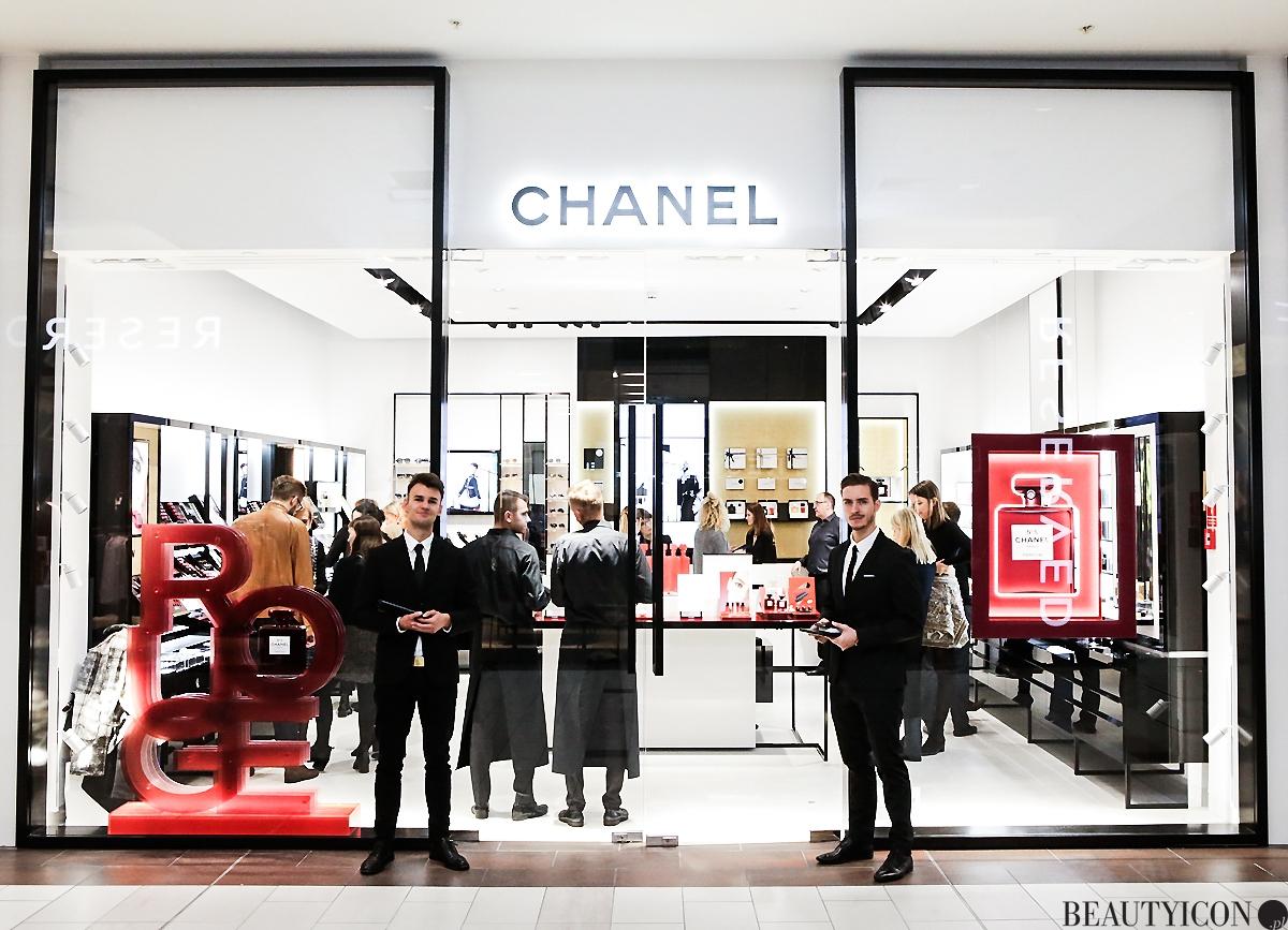 Butik Chanel w Warszawie Galeria Mokotów