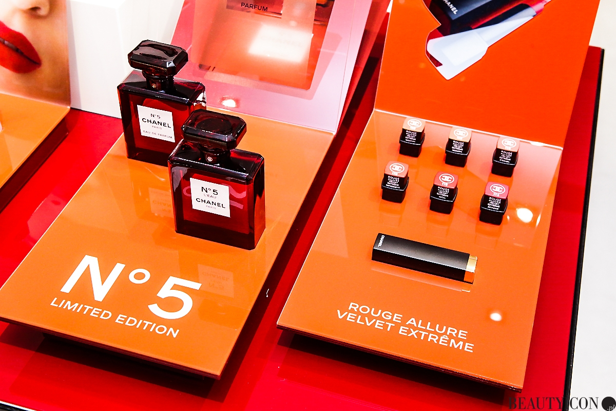 Chanel N5 Red Bottle limitowany flakon, Chanel butik Warszawa