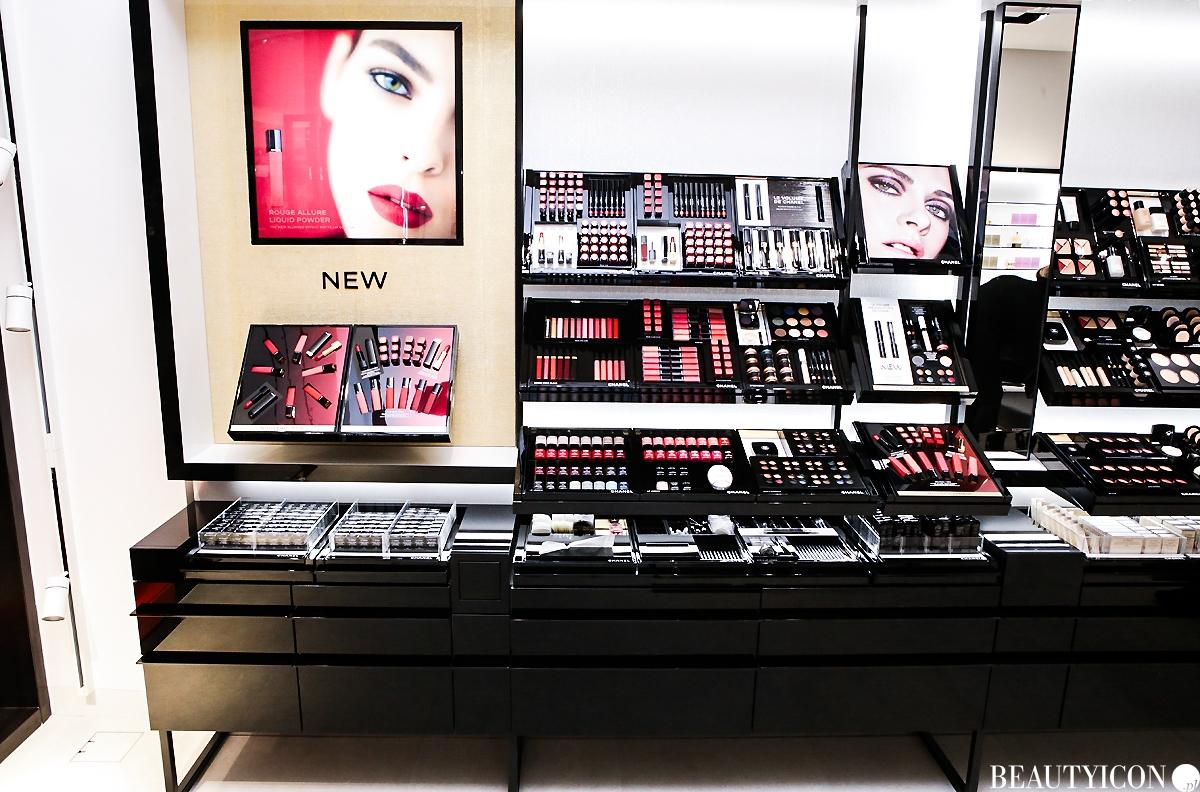 Kosmeyki do makijażu Chanel butik Warszawa