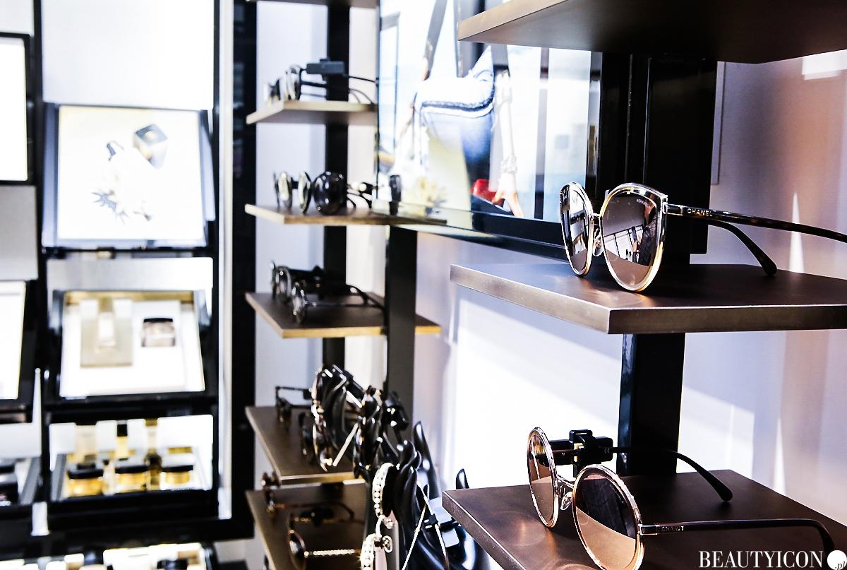 Okulary przeciwsłoneczne butik Chanel Warszawa