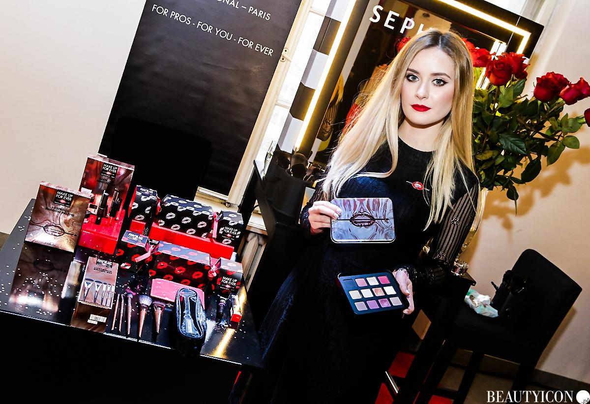Sephora Make Up For Ever swieta makijaz 2017