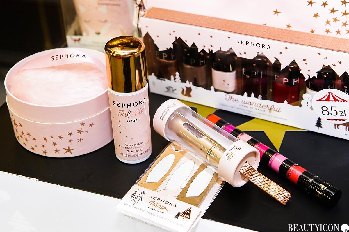 Sephora gwiazdka 2017 prezenty swiateczne, kosmetyki Sephora, prezenty na święta