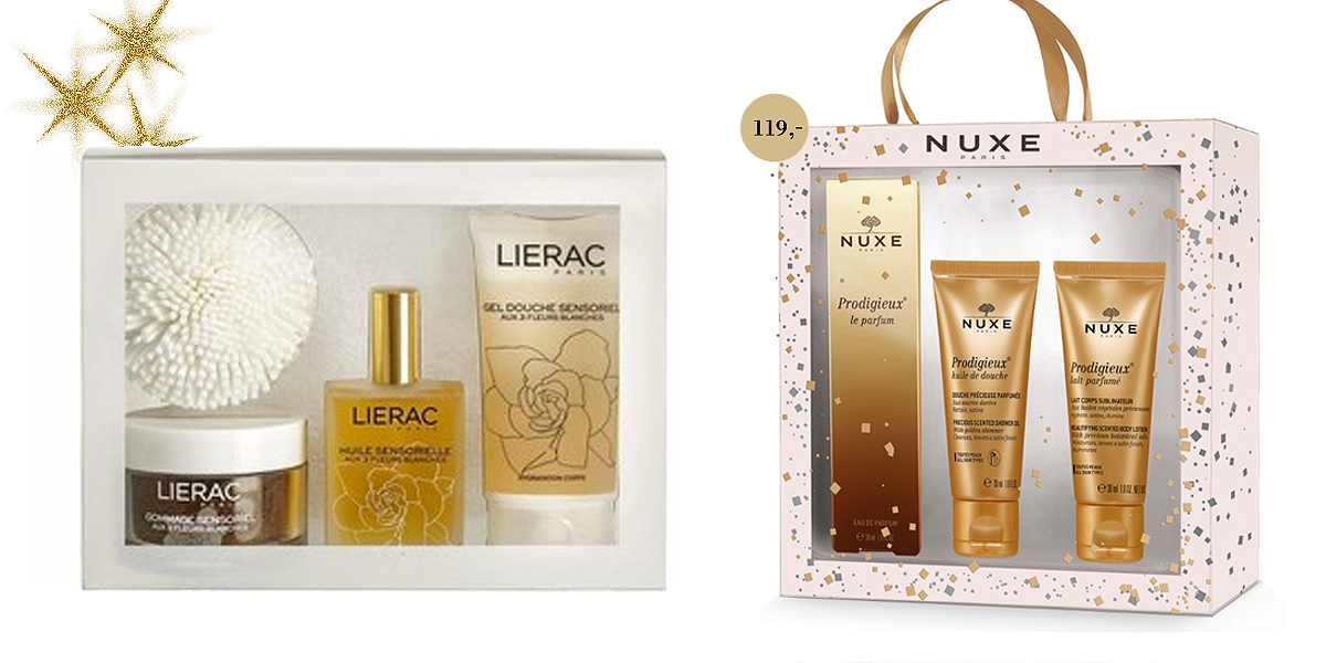 Kosmetyki Nuxe, kosmetyki Lierac, Lierac Sensorielle, Nuxe Prodigieuse